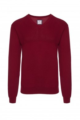SWETER MĘSKI SWFLI_W15_#69416_DARK_RED